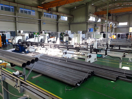 Material storing and automatic supplying line
